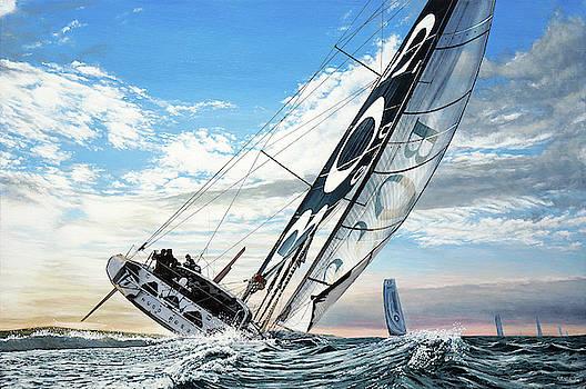 Hugo Boss Boat by Mark Woollacott