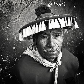 Huichol Shaman 2 by Bruce Herman