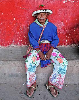 Huichol Shaman by Bruce Herman