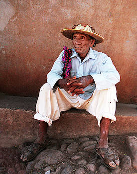 Huichol Viejo by Bruce Herman