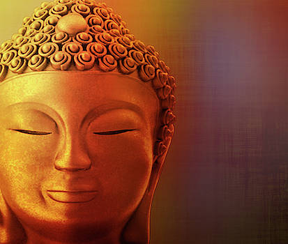 The image of a Buddha by Vicen Photography
