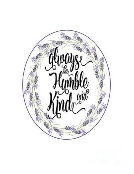 Humble and Kind by Judy Hall-Folde