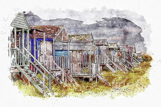 Hunstanton Beach Huts by John Edwards