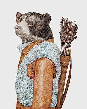 Hunter Bear by Animal Crew
