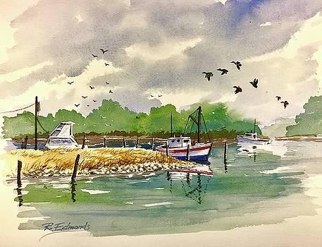 Hunting Creek Harbor by Raymond Edmonds