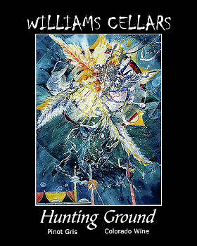 Hunting Ground Wine Label by Williams Cellars