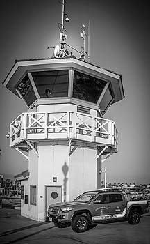 Huntington Beach Main Lifeguard Pier Tower by Art Spectrum