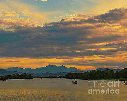 Asia Visions Photography - Huong River Sunset