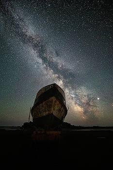 Hurkett Shipwrecks on a Late June Night by Jakub Sisak