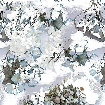 Hydrangeas in powder blue by Jocelyn Friis