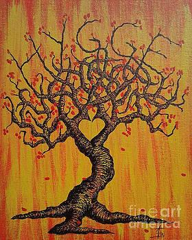 Hygge Love Tree by Aaron Bombalicki
