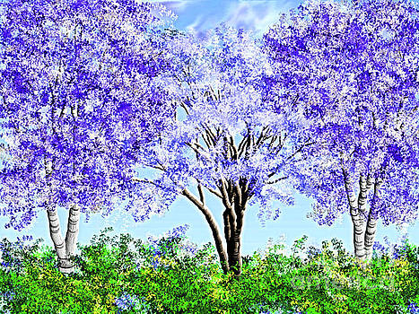 I Imagine A Russian Spring TIme by Debra Lynch