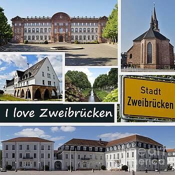 I love Zweibruecken  by Christine Huwer