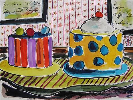 Ice Cream Cakes by John Williams