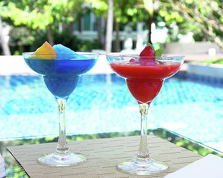 Ice fresh cocktail  by Tamara Sushko