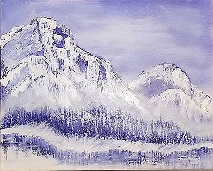 Ice Mountain  by F-Kenneth Taylor