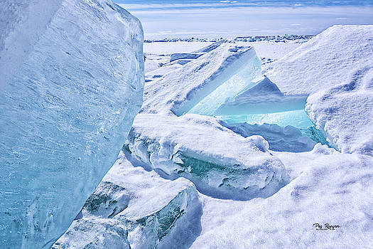 Ice Scape by Peg Runyan