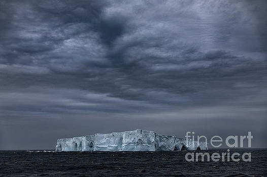 Iceberg and Clouds by Patti Schulze