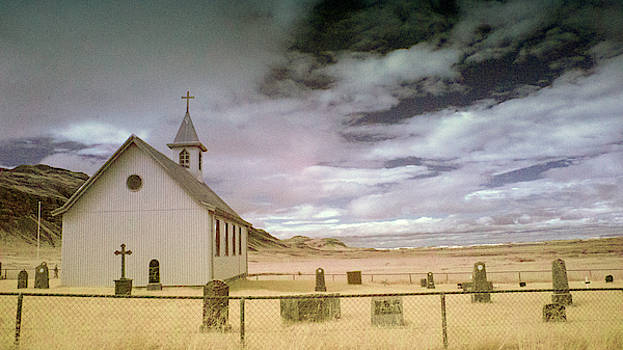 Icelandic Church by Jim Cook