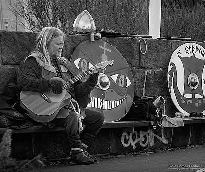 Icelandic Street Performer by Fabio Gomes Freitas