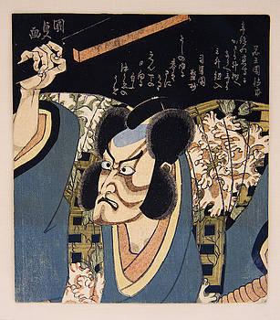Utagawa Kunisada - Ichikawa Danjuro VII as Arajishi Otokonosuke