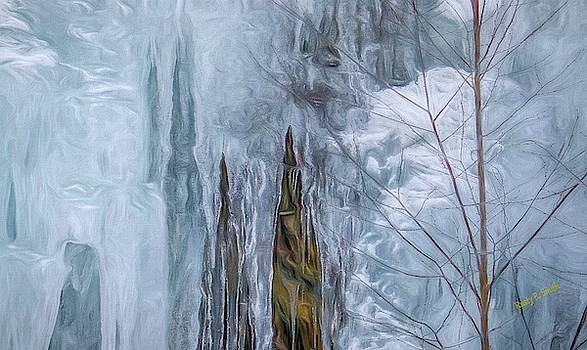Icicles in nature by Rusty R Smith