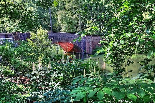 Iconic Red Brick Bridge  by Carol Montoya