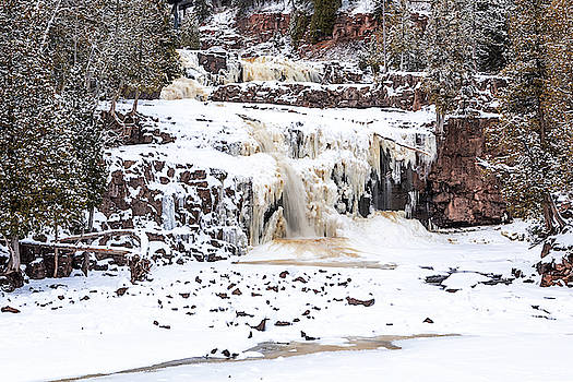 Susan Rissi Tregoning - Icy Gooseberry Falls