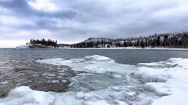 Susan Rissi Tregoning - Icy Lake Superior