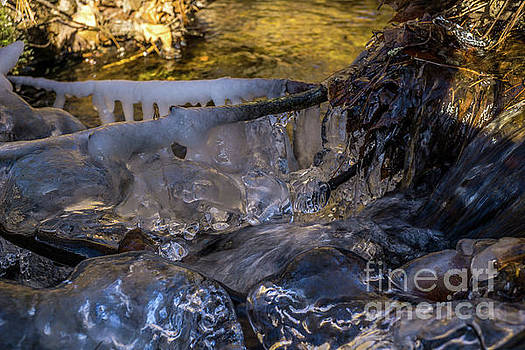 Icy River by Linda Howes