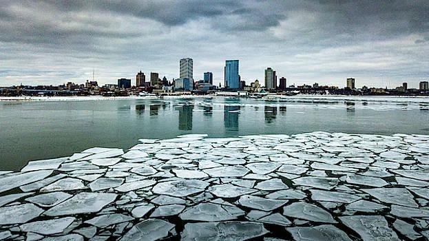 Icy Skyline by Randy Scherkenbach
