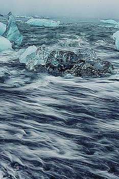 Icy waters by Angela King-Jones