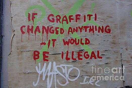 Susan Carella - If Graffiti Changed Anything