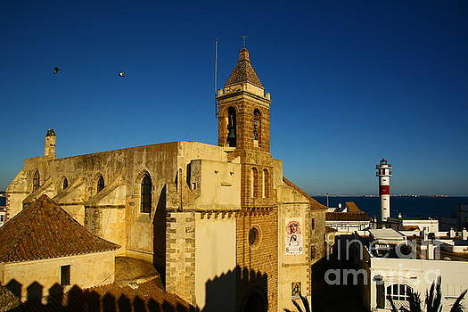 Iglesia de la O, Rota, Spain by Tony Lee