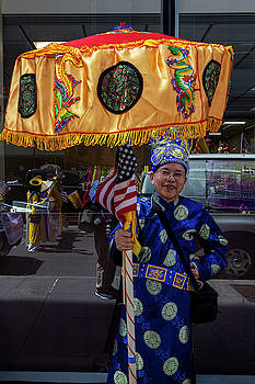 Immigrant Parade NYC 8_8_19 Tibetan  by Robert Ullmann