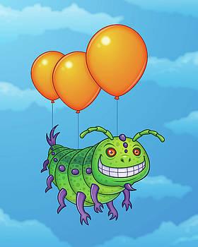Impatient Caterpillar by John Schwegel