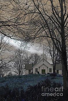 Impending Storm - Blue by Jennifer Robin
