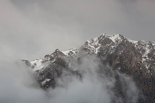 In the clouds - 3 - French Alps by Paul MAURICE