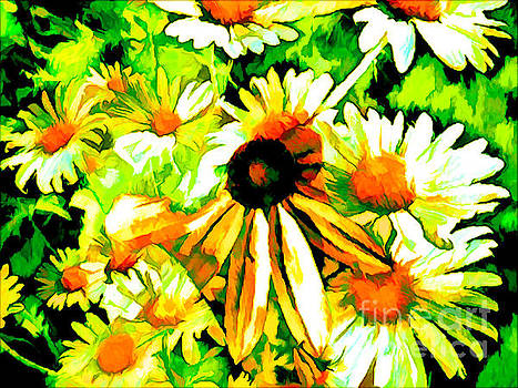 In The Midst Of Daisies by Debra Lynch