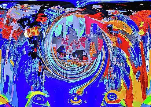 In the wake of the vortex by Karl-Heinz Luepke