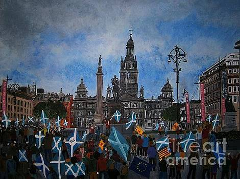 Independence March, Glasgow by Neal Crossan