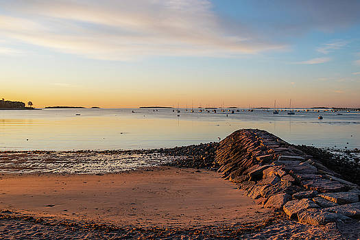 Toby McGuire - Independence Park Beverly MA Morning Light Breakwater