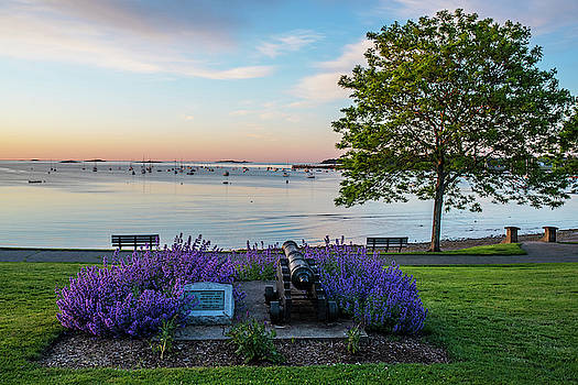 Toby McGuire - Independence Park Beverly MA Morning Light Cannon Statue