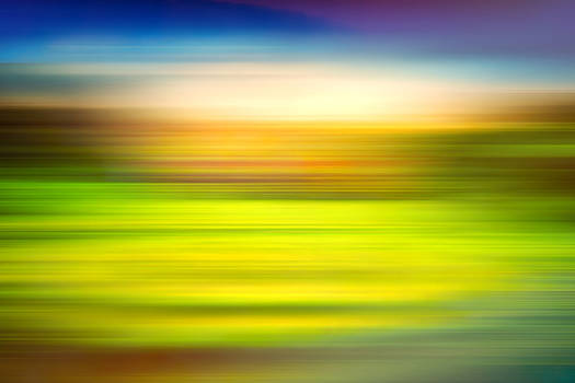India Colors - Abstract Rural Panorama by Stefano Senise