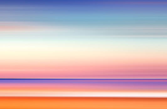 India Colors - Abstract Wide Daybreak  by Stefano Senise