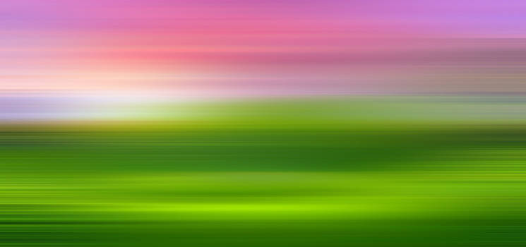 India Colors - Abstract Wide Green Panorama by Stefano Senise