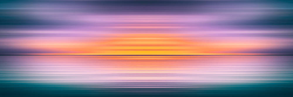 India Colors - Abstract Wide Seascape by Stefano Senise
