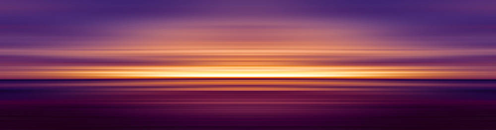 India Colors - Abstract Wide Sunset 2 by Stefano Senise