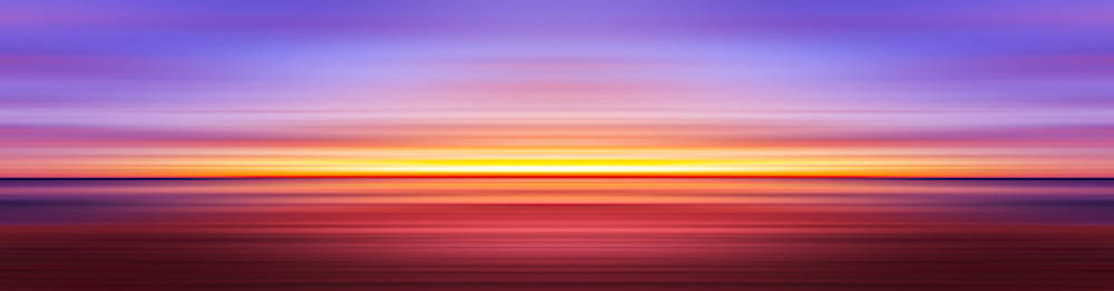 India Colors - Abstract Wide Sunset 3 by Stefano Senise