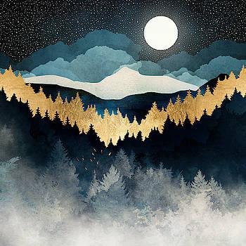 Indigo Night by Spacefrog Designs